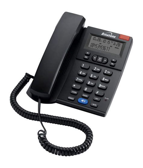 land line phones buy binatone concept 700 corded landline phone black at best price in india snapdeal