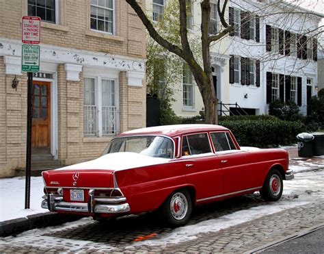 mercedes   georgetown washington dc classic cars today