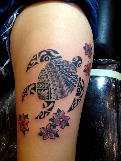 50 Awesome Tribal Turtle Tattoos Designs Awesome Tribal Tattoos For
