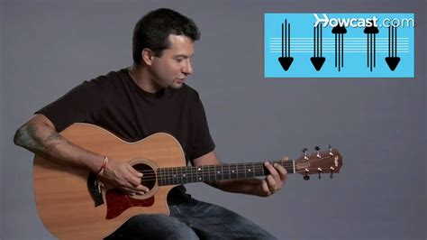 strumming pattern youtube how to play strum pattern 1 guitar lessons youtube