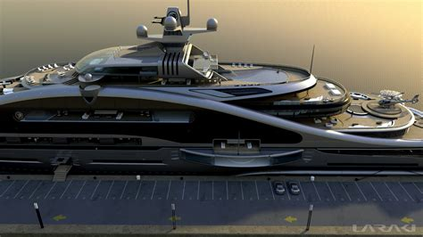 yacht design megayacht global laraki yacht designs impressive 163m
