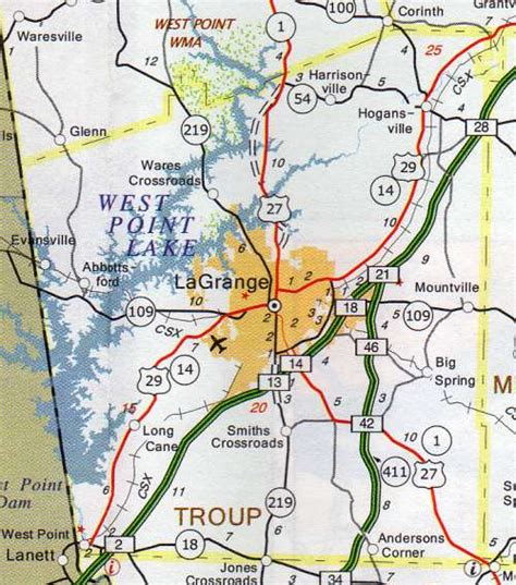Troup County Property Records Troup County Map Hotels Motels Vacation Rentals Places To