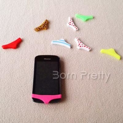 Diy Anti Dust usd 1 99 home button sticker anti dust silicone mini briefs style for iphone4