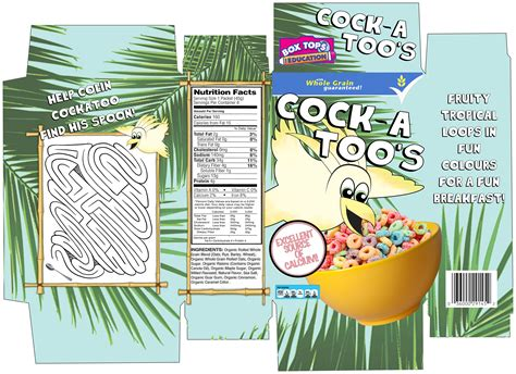 design your own cereal box template character and packaging design cereal box net