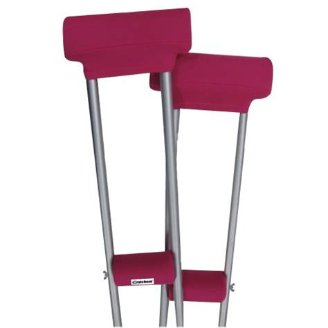 most comfortable crutches awardpedia crutcheze sport pink crutch pads covers with