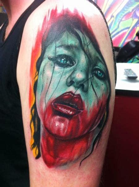 tattoo fixers zombie knob day of the dead fix up cover up by eddie zavala tattoonow