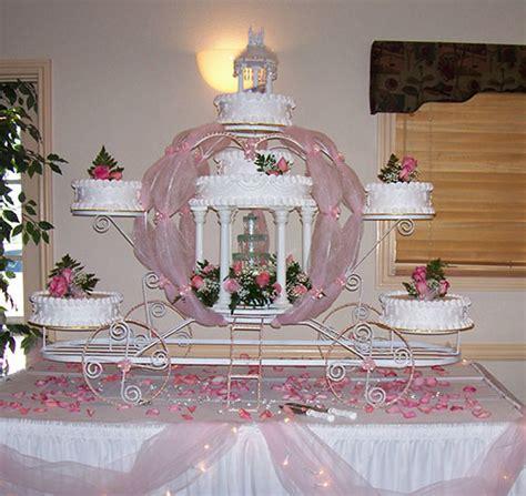 Wedding Cake Display Ideas by Cinderella Wedding Cake Ideas Knot For