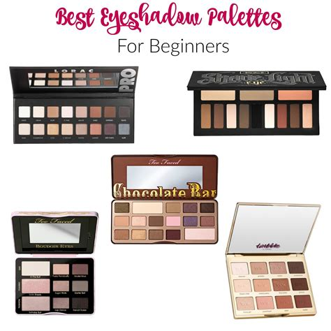 5 New Eyeshadow Palettes To Try by Best Eyeshadow Palettes For Beginners With