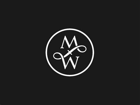 Design A Monogram Logo | mw monogram logo logo designer bradenton web design