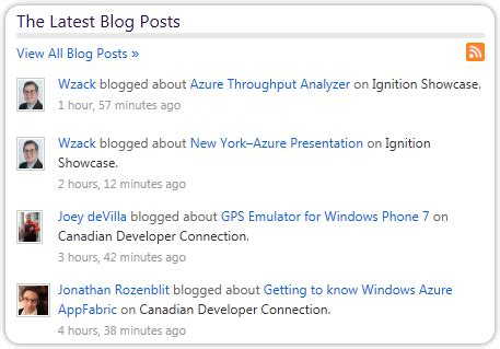 blog the first blog last posts site and profile settings technet blogs help