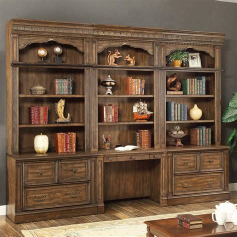 Home Office Furniture Wall Units Home Library Wall Units Library Walls Home Office Library Design 8 Wall Unit Office Furniture