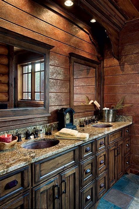 Rustic Bathrooms Photos by Rustic Master Bath Bathroom Details