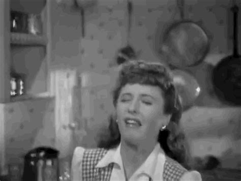 barbara stanwyck holiday classics gif by warner archive