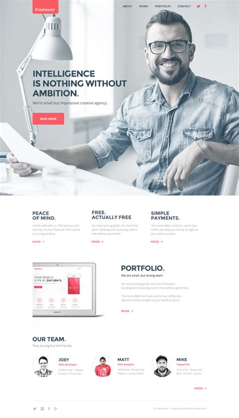 25 New Free Photoshop Psd Files For Designers Freebies Graphic Design Junction Website Template Like Freelancer