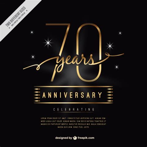 Wedding Anniversary Wishes Vector Free by Luxury Seventy Anniversary Card Vector Free
