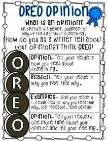 Oreo Template For Persuasive Writing by Grade Wow Welcome 2015 And Opinion Writing