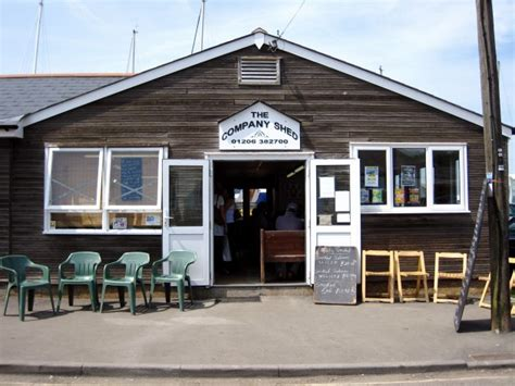 The Shed Mersea Island by Favourite Fish Restaurant The Company Shed Mersea