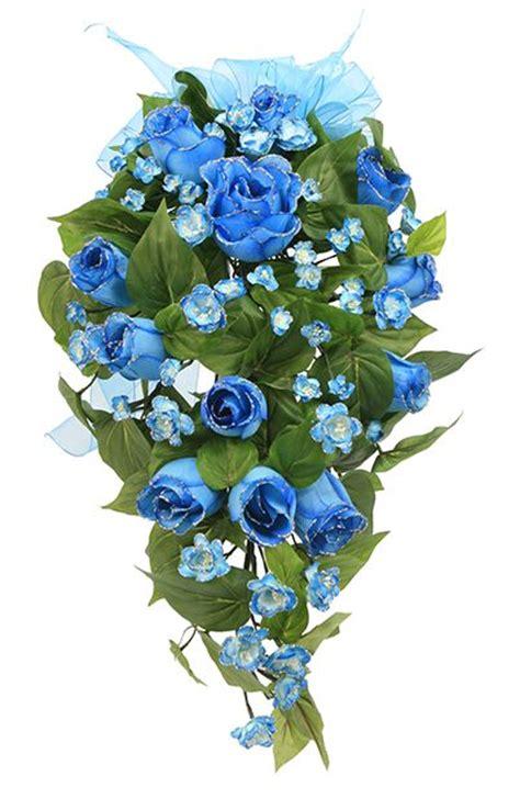 arreglos de flores para 15 aos ramo de flores azules para quincea 241 era arreglo de flores