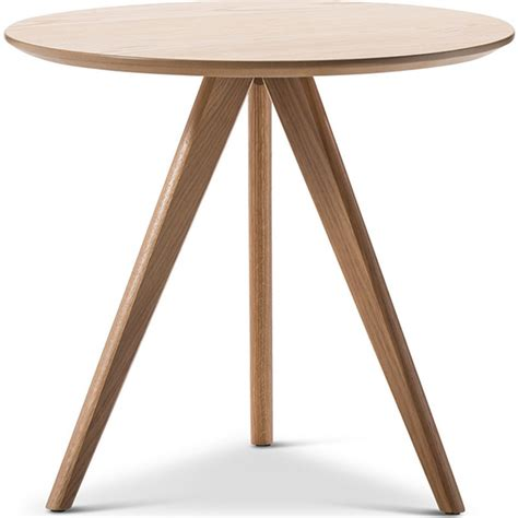 three legged wooden table scandinavian oak veneer side table w 3 legs buy