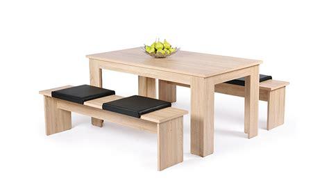 esstisch mit zwei bänken tisch mit 2 b 228 nken
