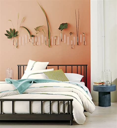 peach bedroom ideas green accents in a peach bedroom decoist
