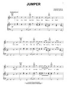 lyrics to jumper by third eye blind jumper sheet by third eye blind piano vocal