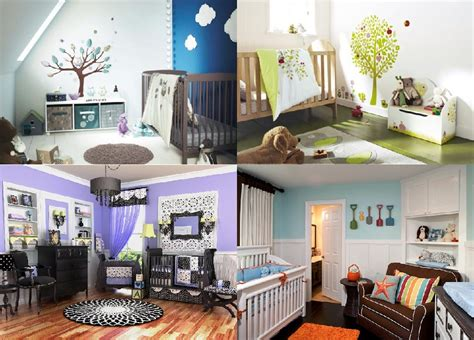 theme room ideas nursery decorating ideas 5 unique looks for the new baby