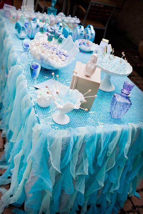 Mermaid Decoration Ideas by Best 25 Mermaid Table Decorations Ideas On