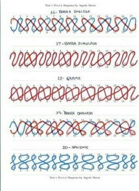 types of loom knitting stitches die besten 17 ideen zu strickrahmen muster auf
