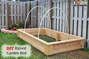 diy raised garden bed step by step tutorial the