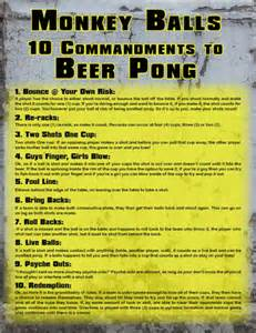 beer pong rules images