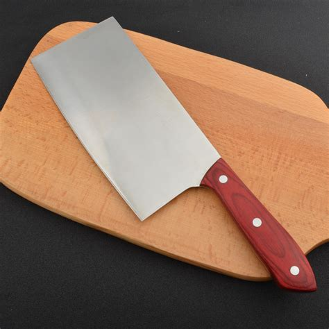 kitchen cutting knives traditional chopper butcher knife bone cutting cleaver kitchen knives ebay