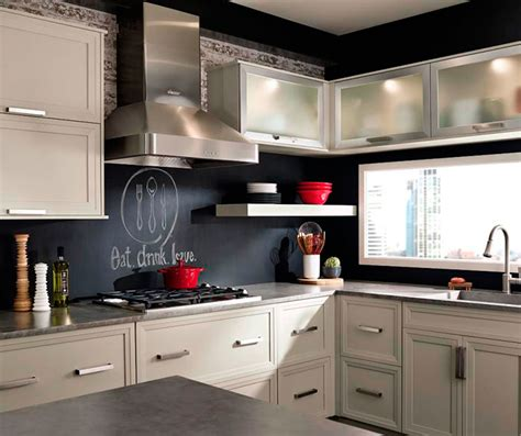 Kitchen Kraft Cabinets by Grey Cabinets In Casual Kitchen Kitchen Craft Cabinetry