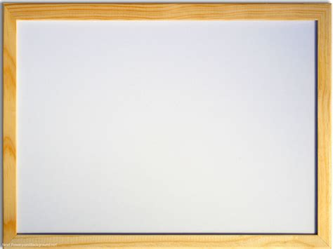 White Board With Wood Frame Powerpoint Background Next Powerpoint Board Template