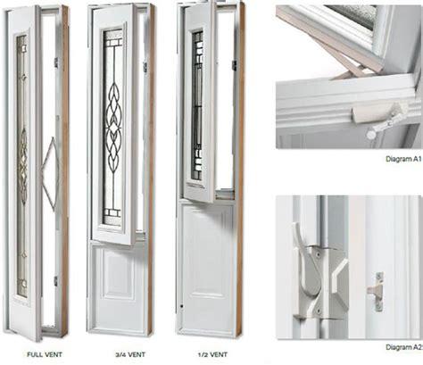 Fiberglass Entry Doors Vented Exterior Doors