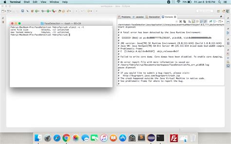 tutorial java mac os x macos how to enable core dump in my java mac os x