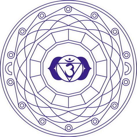 sahasrara chakra mandala coloring page free printable