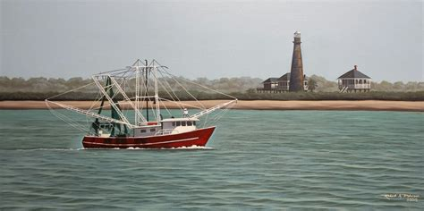 the shrimp boat shrimp boat and the bolivar lighthouse vacation on