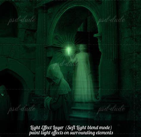 tutorial photoshop gothic photoshop ghost tutorial in gothic setup photoshop