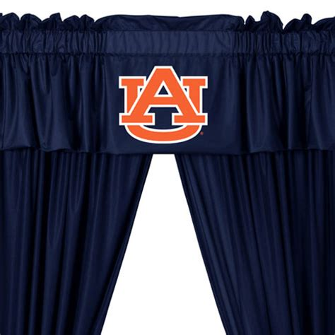auburn curtains ncaa auburn tigers 5pc jersey drapes curtains and valance set