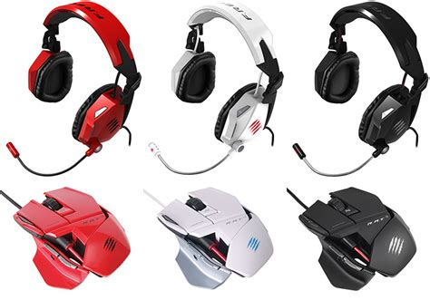 Pc Mcz R A T 5 Mouse White win one of three mad catz headset and mouse bundles pc