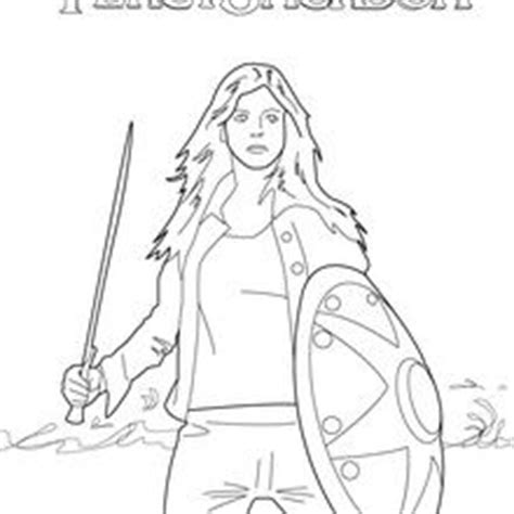 percy jackson coloring book activity book for children and books annabeth coloring pages hellokids