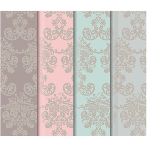 elegant pattern ai elegant colors pattern background collection vector free