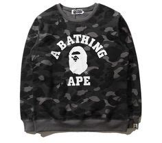 Sweater Longline A Bathing Ape Import Premium Only bape x upreme quot fly i am fa hion quot
