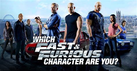 fast and furious 8 hero name which fast and furious character are you quirkybyte