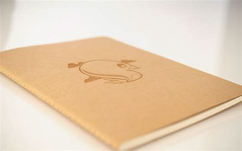 engraved notebooks on behance