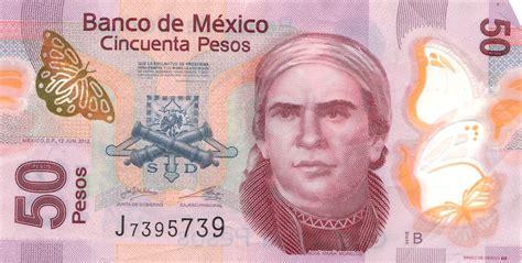 mexican 50 peso note wikipedia - Piso Mexicano