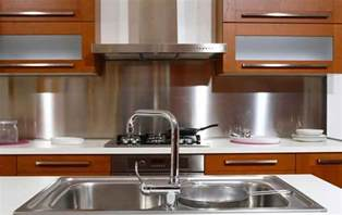 Kitchen Backsplash Stainless Steel by 10 Modern Kitchen Backsplash Ideas Model Home Decor Ideas