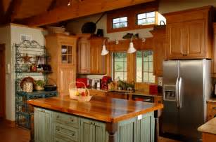 Country Kitchen Color Ideas Rustic And Country Both Are Casual Kitchen Stylesselect
