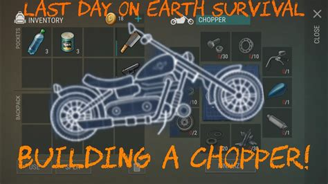 pattern chopper last day on earth what you need to build a chopper last day on earth